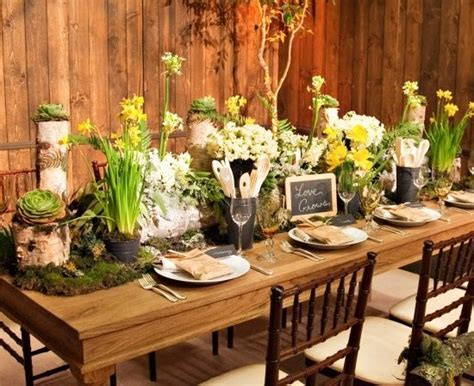 rustic table decorations frosting last time for easter ideas inspiration