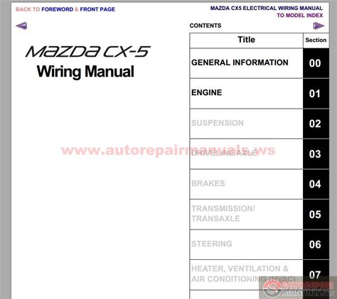 mazda cx 5 2012 workshop repair manual auto repair manual forum heavy equipment forums