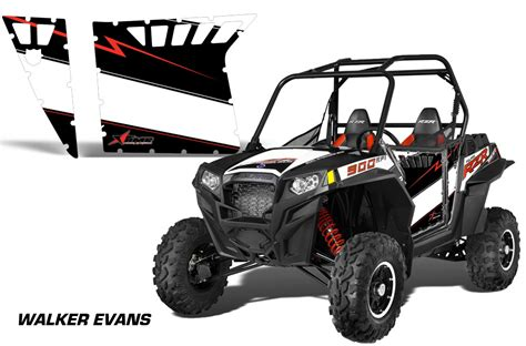 polaris home design inc amr racing door graphics kit for polaris rzr 900 900xp