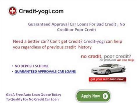 guaranteed auto financing with bad guaranteed auto financing bad credit guaranteed auto