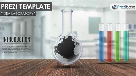 Idea Laboratory Prezi Template Prezibase Prezi Template Ideas