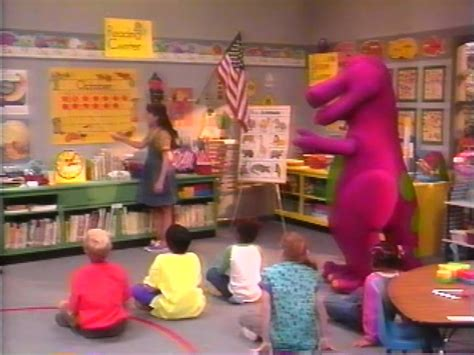 barney and the backyard gang goes to school barney the backyard gang barney wiki