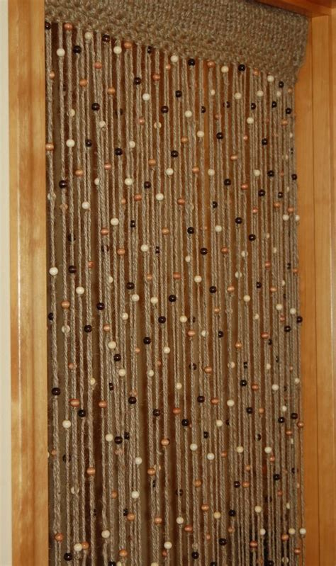 how to make beaded door curtains best 25 hanging door beads ideas on pinterest