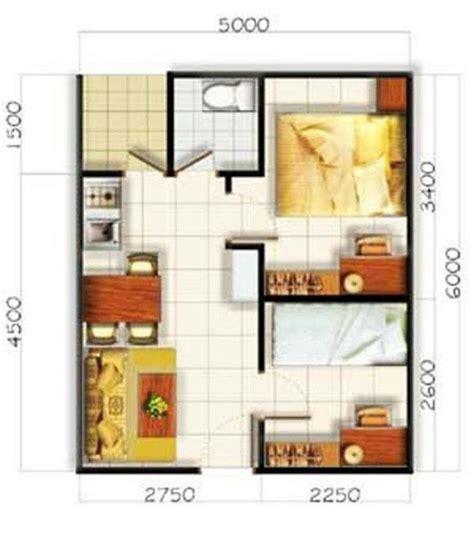plan rumah sederhana ukuran  denah rumah sederhana   diseno casas pequenas planos
