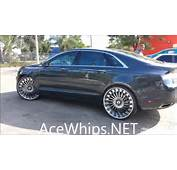 AceWhipsNET  First 2014 Lincoln MKZ On 24 Forgiatos By