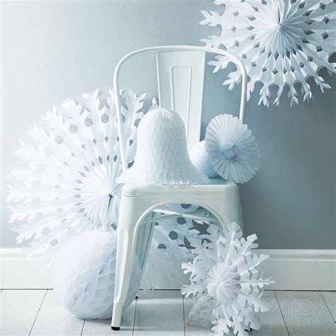 winter white christmas decoration pack by pearl and earl