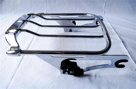Detachable Roof Rack by Air Wing Detachable Luggage Rack Harley Davidson Forums