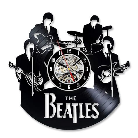 gifts for beatles fans vintage vinyl record wall clock gift for the beatles fans