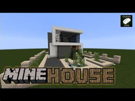 minehouse casa moderna mica #2 episodul 1 minecraft