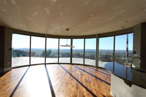 Curved Glass Door Curved Sliding Glass Doors With Panoramic Views