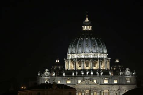 illuminazione led roma san pietro nuova illuminazione a led per il quot cupolone