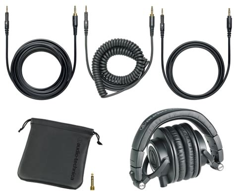 Audio Technica Ath S500 Hitam audio technica ath m50x pro monitoring headphone hitam