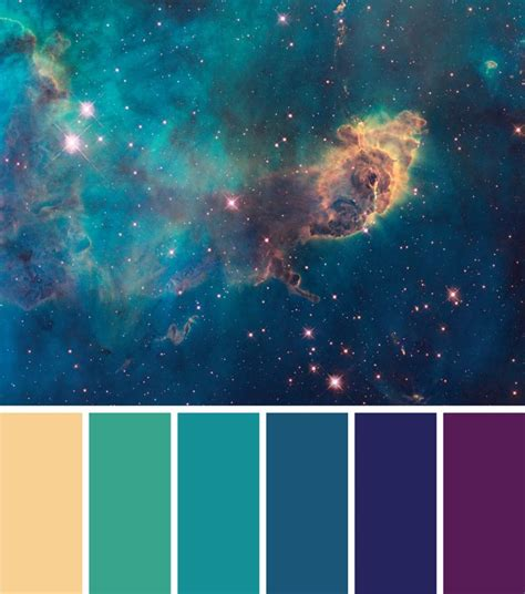 galaxy color palette best 25 galaxy colors ideas on hair