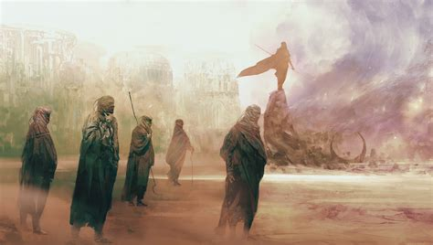 here s the concept art that inspired the robot from the dune inspired concept art by simon goinard concept art world