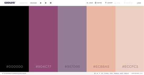 website color schemes 2016 case study how to choose the right color palette for your