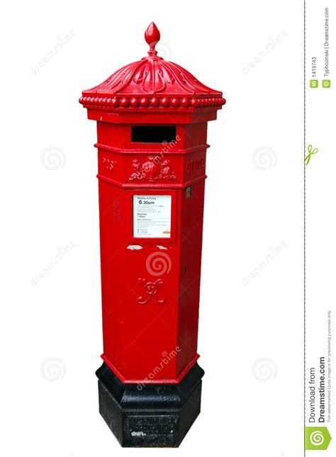 brit box a british royal mail postbox isolated stock photos