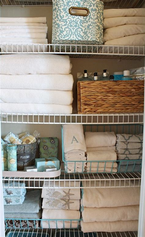 Small Apartment Storage Ideas by 15 Tips And Tricks For Organizing Your Linen Closet