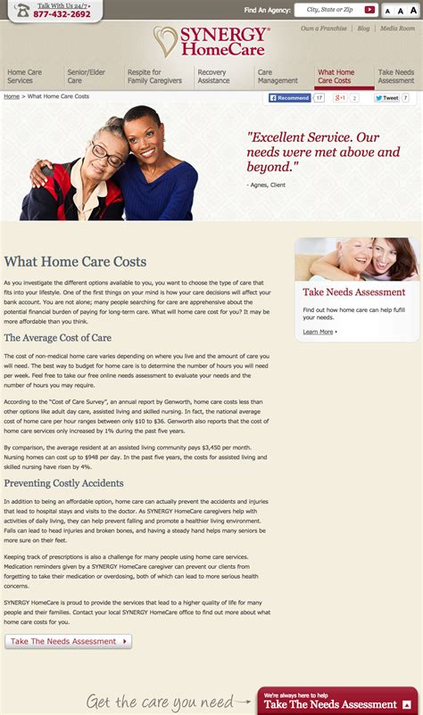 synergy home care franchise profit home review