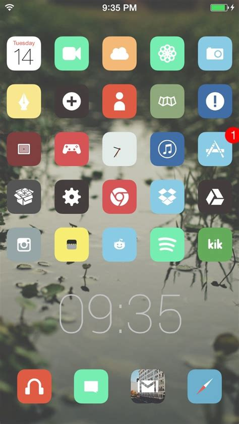 iphone themes without winterboard image gallery iphone 5 jailbreak themes
