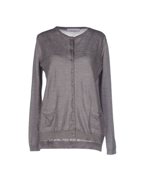 Kaos T Shirt Sweater Anak All Size kaos cardigan in silver lyst