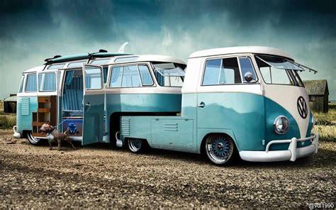 volkswagen cer trailer vintage trailers custom vw retro vintage