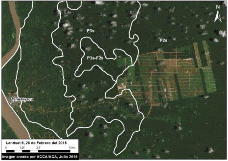 imagenes satelitales usgs gobierno peruano confirma que 225 rea deforestada por united