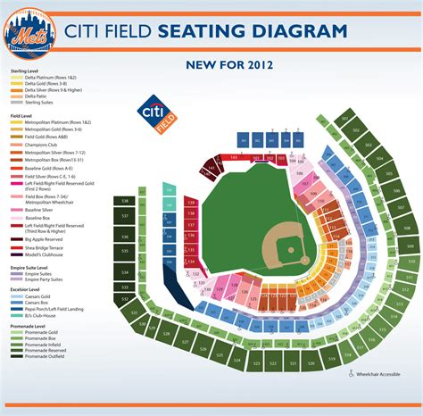 mets seating chart citi field citi field seating and pricing chart new york mets