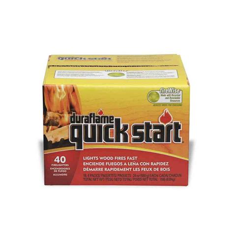 shop duraflame 40 pack start 6 oz firestarters at