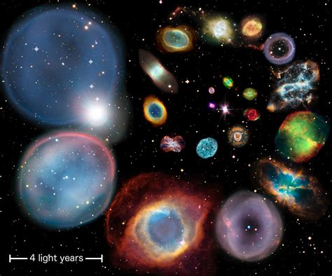 ghostly  beautifulplanetary nebulae