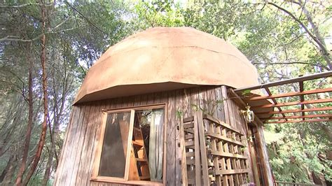 stay in the mushroom dome tiny house in aptos california here is airbnb s most popular rental ever aol finance