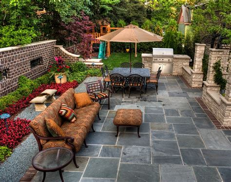 Garden Patio Design Patio Cost Landscaping Network