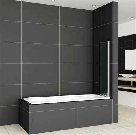Shower Panels For Bathrooms 1 2 3 4 5 Fold Pivot Folding Bath Shower Screen 1400 Glass Door Panel Seal Ebay