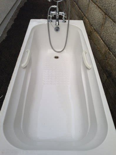 Shower Fitting For Bath Taps white bath with victorian mixer taps with shower and