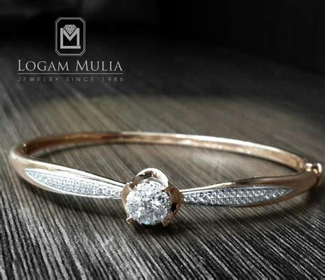 Cincin Berlian Lotus Carat 1079 jual sold gelang berlian kaku ar bg603435 logammuliajewelry
