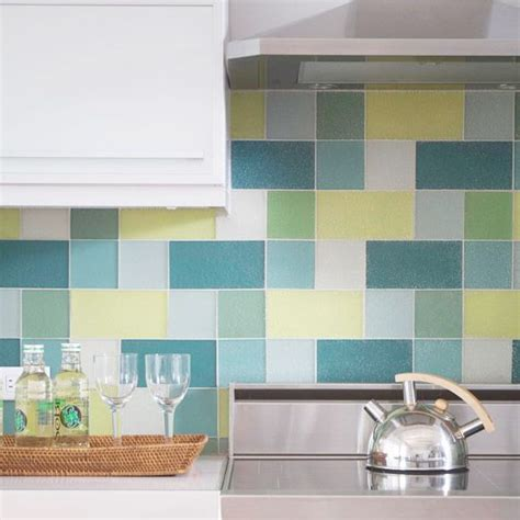 25 best ideas about glass tile kitchen backsplash on