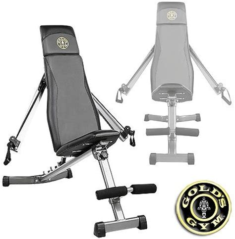 golds gym slant bench gold s gym ggbe1968 xrs slant bench with adjustable arms