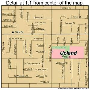 upland california map 0681344