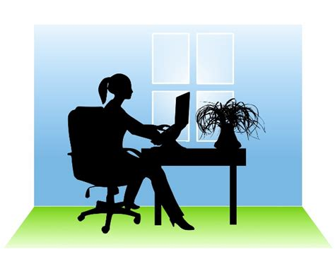 black work from home clipart Clipground