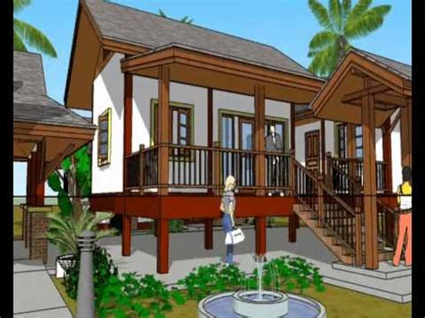thai style house designs building plans thai style house house design plans