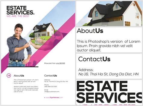 realtor flyer template realtor flyer template flyerheroes