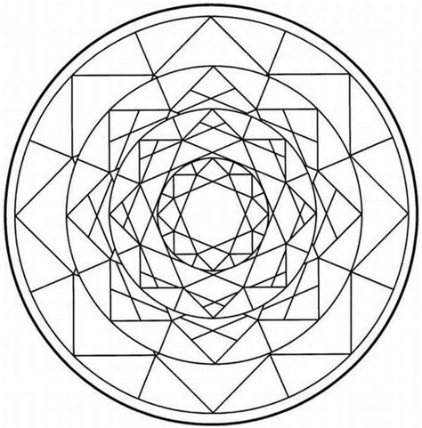 kaleidoscope coloring pages for adults kaleidoscope coloring page coloring home