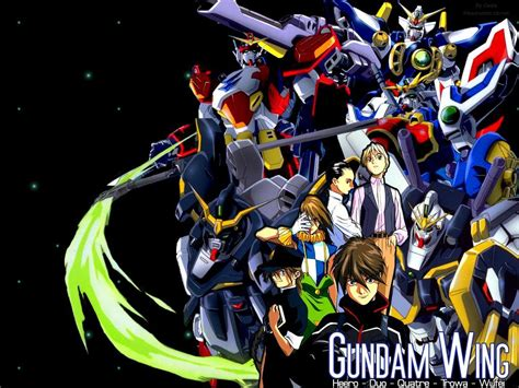 gundam wing my shiny robots anime review gundam wing