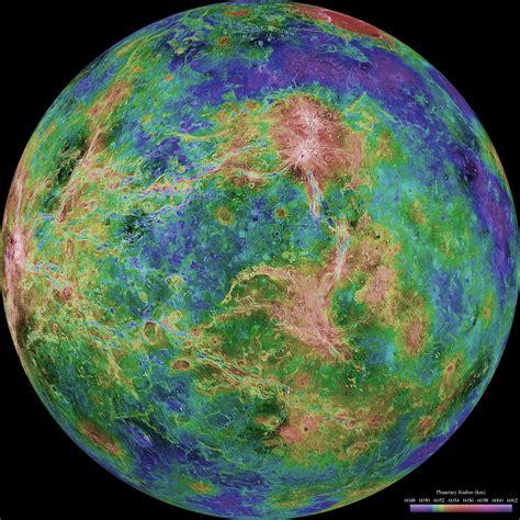 venus map esa science technology radar map of venus surface