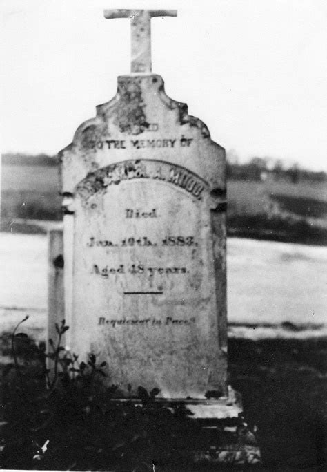 Mudd Ori 1 original dr samuel mudd headstone