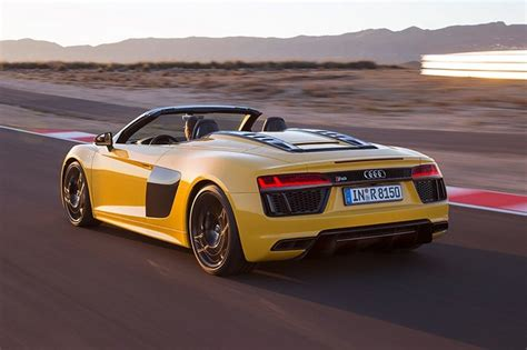audi supercar convertible the audi r8 v10 convertible takes it