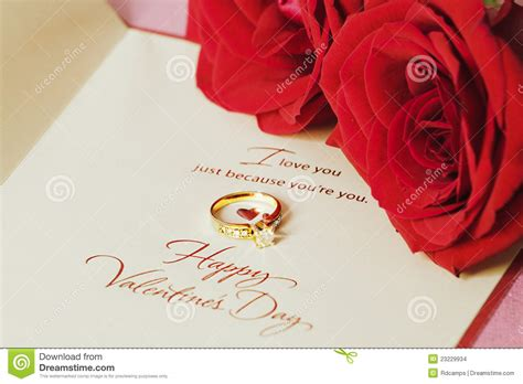 valentines ring valentines ring and stock photo image of background