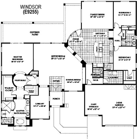 del webb house plans sun city grand windsor floor plan del webb sun city grand floor plan model home house