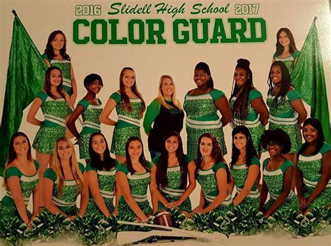 high school color guard uniforms slidell high school