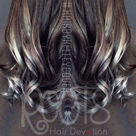 silver blue hair on pinterest lemon hair highlights silver gray balayage ombre sombre long hair wavy beachy