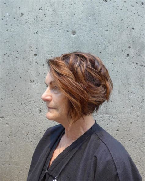 inverted bob hairstyle for women over 50 38 chic short hairstyles for women over 50